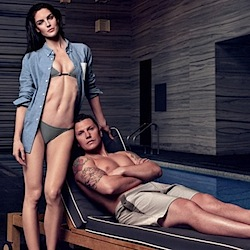 Hilary Rhoda and Sean Avery Debut Swimsuit Collection